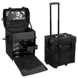 PROFESSIONAL COSMETIC MAKEUP TROLLEY CASE - MEDIUM
